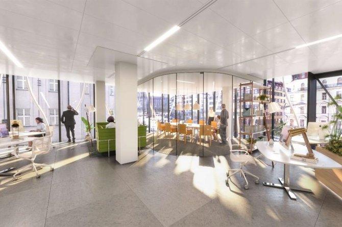 The Flow Building - Servisované kanceláře